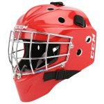 Kid's CCM 7000 Yth. Carbon Goalie Mask | One Size Fits All – Youth | Red
