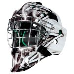 Bauer NME 4 Senior Goalie Mask – King   One Size Fits All – Senior   Los Angeles Kings