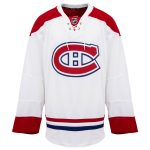 Away Montreal Canadiens Reebok 7287 Authentic Hockey Jersey (2015-2017)   58   White   Away