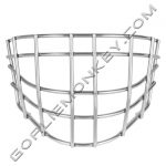 Goalie Monkey Pro Stainless Steel Cheater Cage Fits Bauer 9600 Masks