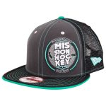 Mission New Era 9Fifty California Grown Snapback Cap | Gray/Teal